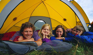 Family-in-camping-tent-001