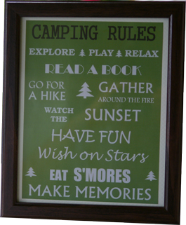 camping etiquette and rules