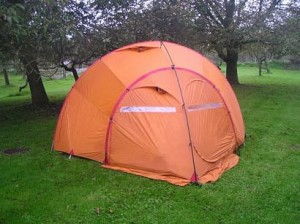Free standing tents