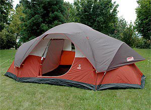 Best Family Tent Coleman Red Canyon 8 Person Modified Dome Tent