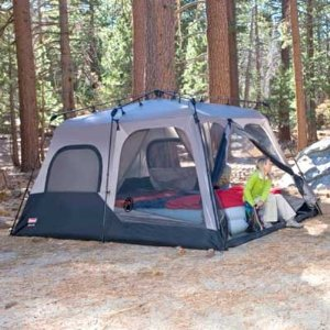 Coleman 8 Person Instant Tent & Coleman 14x10 Foot 8 Person Instant Tent