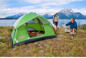 & Coleman Sundome 2-Person Tent (Green 7-Feet X 5-Feet)