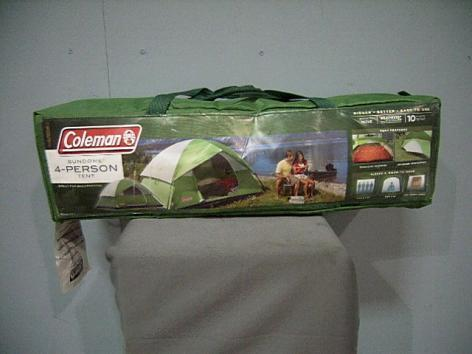 Coleman Sundome 4 Person Tent – Green