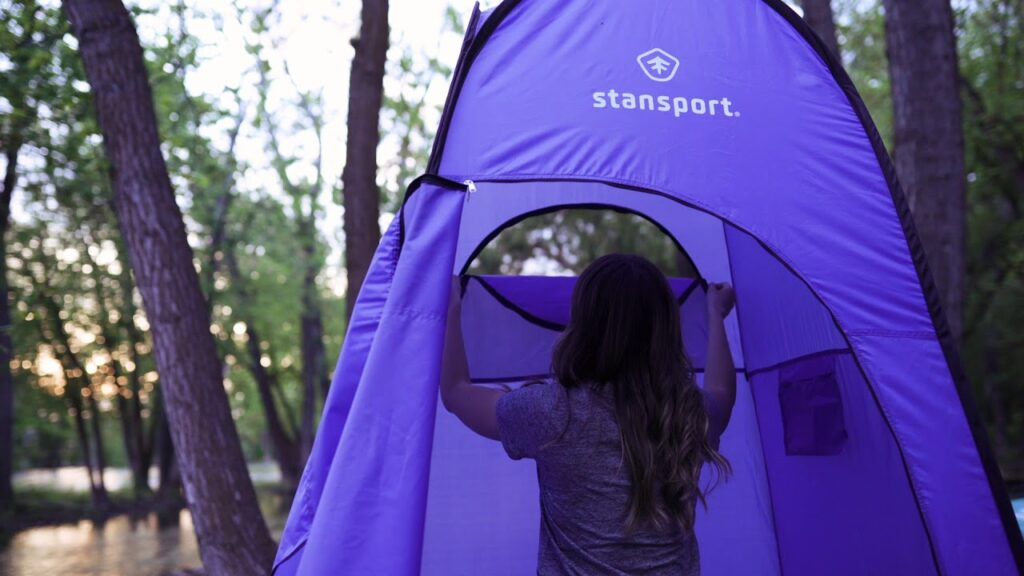 Stansport pop up shower tent & privacy shelters